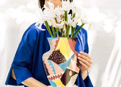 Décoration florale - Atelier Bingo Vases en papier - OCTAEVO