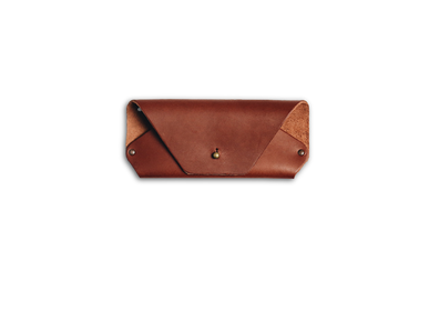 Leather goods - Leather eyeglasses case - LO ESENCIAL