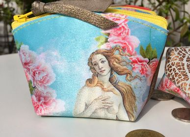 Leather goods - Talisman Aphrodite Coin Purse - EMILIE SAUZET - INSPIRATIONS