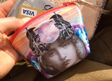 Leather goods - Talisman ATHENA Coin Purse - EMILIE SAUZET - INSPIRATIONS