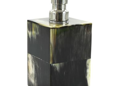 Installation accessories - Soap dispenser dark marbled horn - MOON PALACE