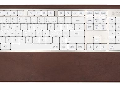 Stationery / Card shop / Writing - SG2 Keyboard - Brown leather - GEBR. HENTSCHEL GBR