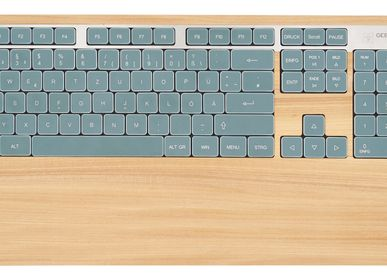 Other smart objects - Computer keyboard - Elm wood - GEBR. HENTSCHEL GBR