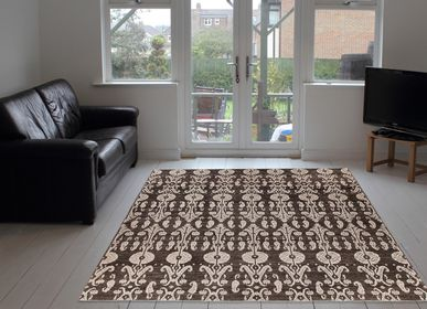Rugs - Hand-Knotted Ikat Rug - ORIENT HANDMADE CARPETS