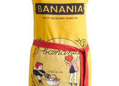 Tea towel - Banania - Petit Déjeuner Familial / Apron - COUCKE