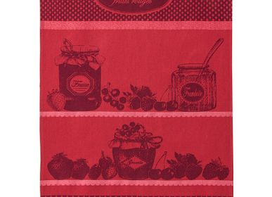 Torchons textile - Confiture Fruits Rouges / Torchon jacquard - COUCKE