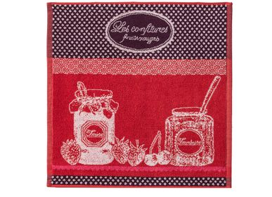 Kitchen linens - Confiture Fruits Rouges / Carré éponge - COUCKE