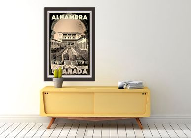 Poster - Limited Editions Vintage Travel Poster - MY RETRO POSTER