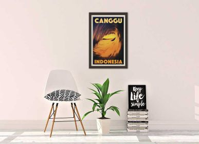 Wall decoration - Vintage Surf Posters Collection - MY RETRO POSTER