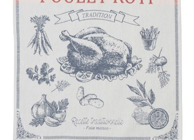 Dish towels - Poulet Rôti / Tea towel - COUCKE