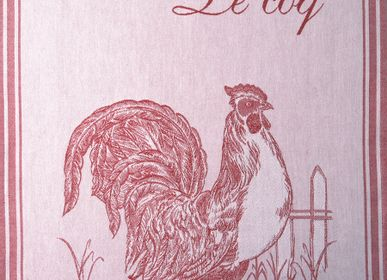Tea towel - Le Coq PJ / Tea towel - COUCKE
