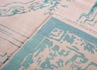 Rugs - Designer Rezvani Frenchie rug - ORIENT HANDMADE CARPETS