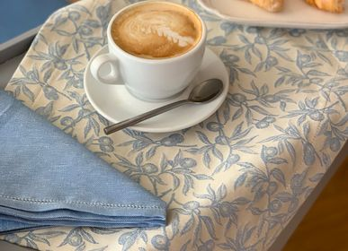 Kitchen linens - Placemat Olivo Selvatico woad blue - BUSATTI  1842