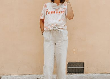 Ready-to-wear - Tshirt Tie&Dye J'AIME L'AMOUR - WAY CUSTOM
