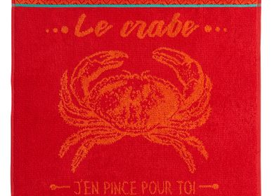 Kitchen linens - Crabe / Terry square - COUCKE