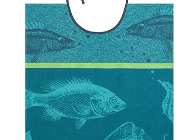 Kitchen linens - Banc de Poissons / Bib - COUCKE