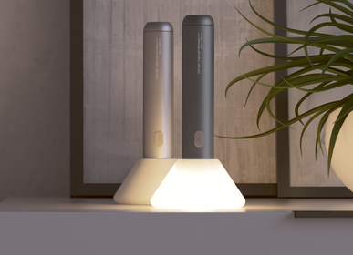 Design objects - Flashlight and Nightlight lamp 2 in 1 - KUBBICK