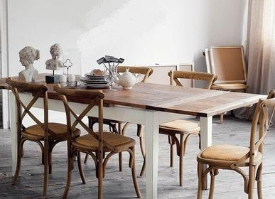 Dining Tables - Cyclades wooden table  - LIVING MEDITERANEO