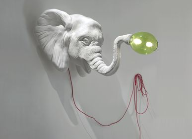 Autres décorations murales - LIGHT ELEPHANT - IMPERFETTOLAB