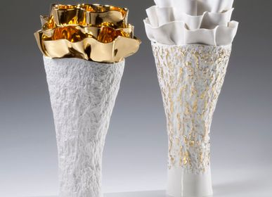 Unique pieces - FLORA Gold Vase - FOS