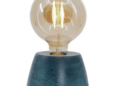 Objets design - Lampe à poser | Lampe Béton | Collection Dôme | Béton coloré - JUNNY