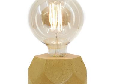 Lampes de table - Lampe à poser | Lampe Béton | Collection Haxagone | Béton coloré - JUNNY