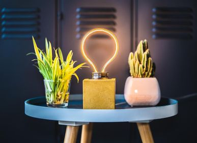 Table lamps - Concrete Lamp | Bulb | - JUNNY