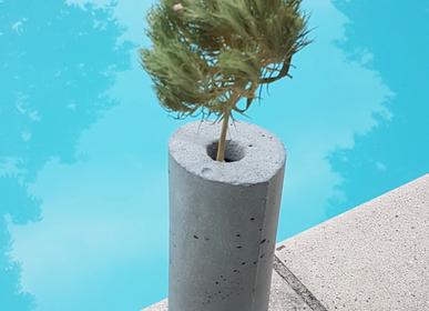 Vases - Soliflore Concrete Glass - DESIGN DE MATIÈRE