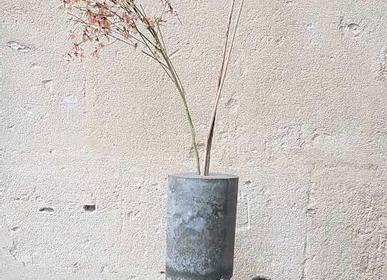 Vases - Soliflore Glass and Concrete - DESIGN DE MATIÈRE
