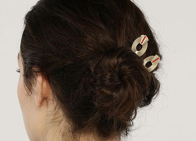 Hair accessories - FARO GM Barrette - LES FEMMES À BARBES