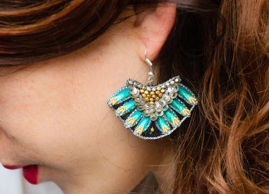 Bijoux - Boucles d'oreilles NIDHI - NAHUA