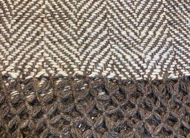 Throw blankets - Llama Wool Throws - NATIVO ARGENTINO