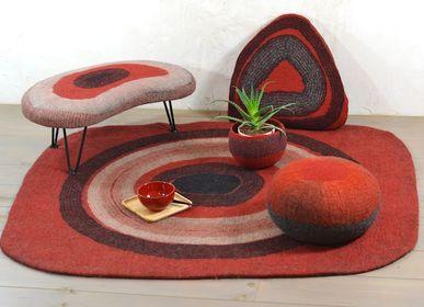 Rugs - AUSTRAL hand made wool felt rug - GHISLAINE GARCIN