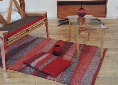 Rugs - ZEBRURES handmade wool felt rug - GHISLAINE GARCIN