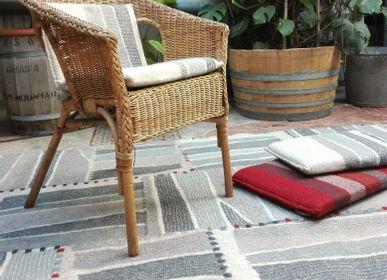 Tapis - Tapis Couture en feutre de laine fait-main - GHISLAINE GARCIN