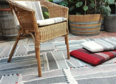 Rugs - Handmade Wool Felt Couture Rug - GHISLAINE GARCIN