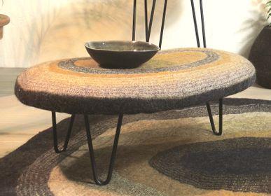 Benches - Handmade Wool Felt Bean Seat - GHISLAINE GARCIN