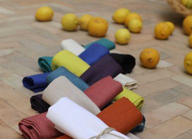 Kitchen fabrics - Linen Napkins - SCÈNES DE LIN