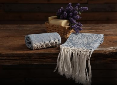 Bath linens - Giglio - Face and Guest Towel with fringe - BUSATTI  1842