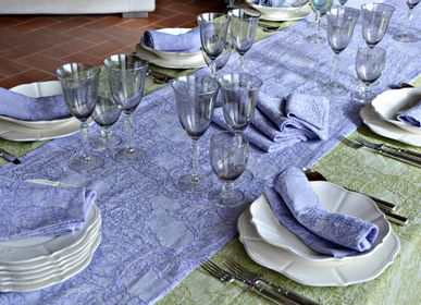 Fabrics - BURRACO TABLE RUNNER - BUSATTI  1842