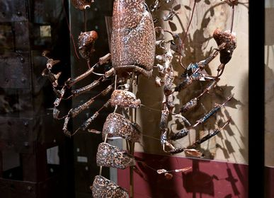 Decorative objects - Lobster shattered with Beauoak - DESIGN & NATURE