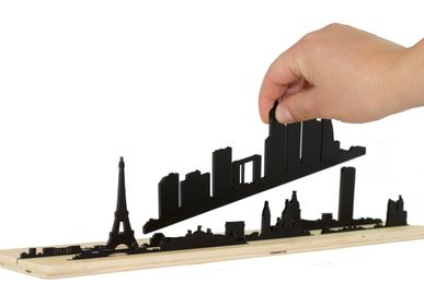 Sculptures / statuettes / miniatures - Shapes of PARIS Skyline - BEAMALEVICH