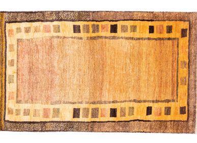 Rugs - Tribal Kurdish Gabbeh Rug - ORIENT HANDMADE CARPETS