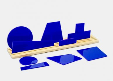 Sculptures / statuettes / miniatures - Shapes of SUPREMATISM BLUE - BEAMALEVICH