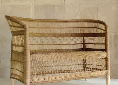 Benches for hospitalities & contracts - Sofa, Rattan - AS'ART A SENSE OF CRAFTS