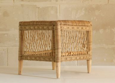 Stools - Rattan side table - AS'ART A SENSE OF CRAFTS