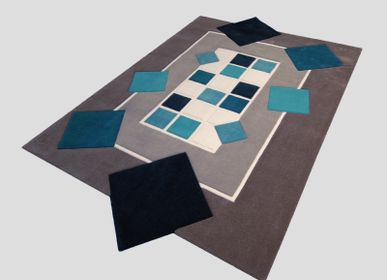 Bespoke - Rug 4 small turns and then tufted hand - JORY PRADELLE