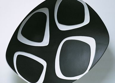 Ceramic - NAUM Black centerpiece - FOS