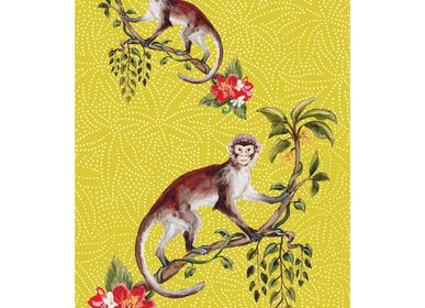 Dish towels - Monkey Tea Towels - ZOOH