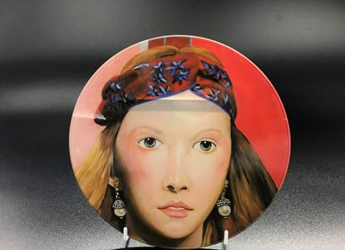 Art glass - Antirretrato 13 (Antiportrait) series 1-24  plates - ZOOH